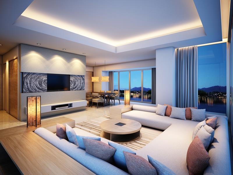 127 Luxury Living Room Designs-42