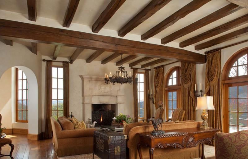 127 Luxury Living Room Designs-48