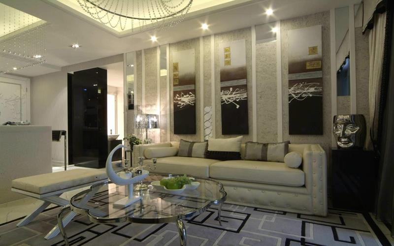 127 Luxury Living Room Designs-52
