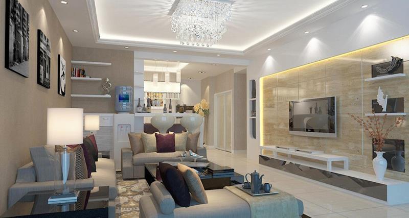127 Luxury Living Room Designs-95