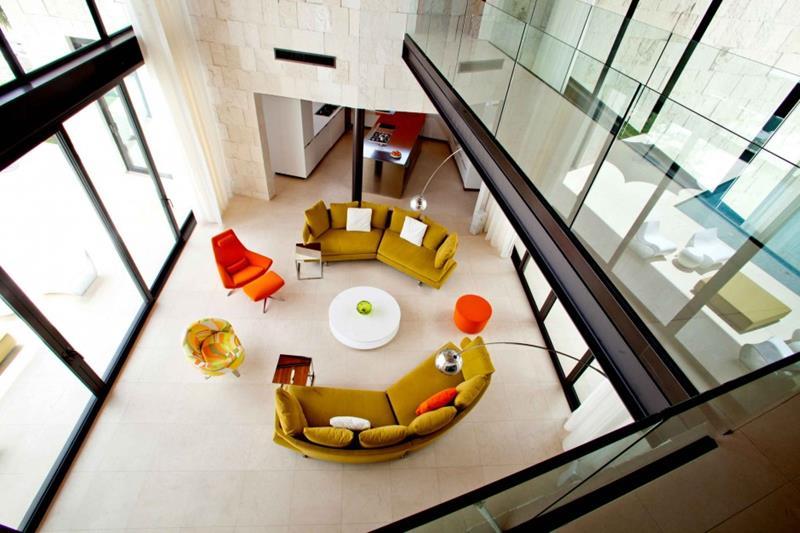 127 Luxury Living Room Designs-96