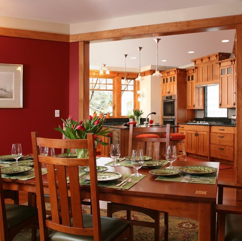 22 Amazing Craftsman Dining Room Designs-21