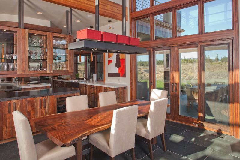 22 Amazing Craftsman Dining Room Designs-22