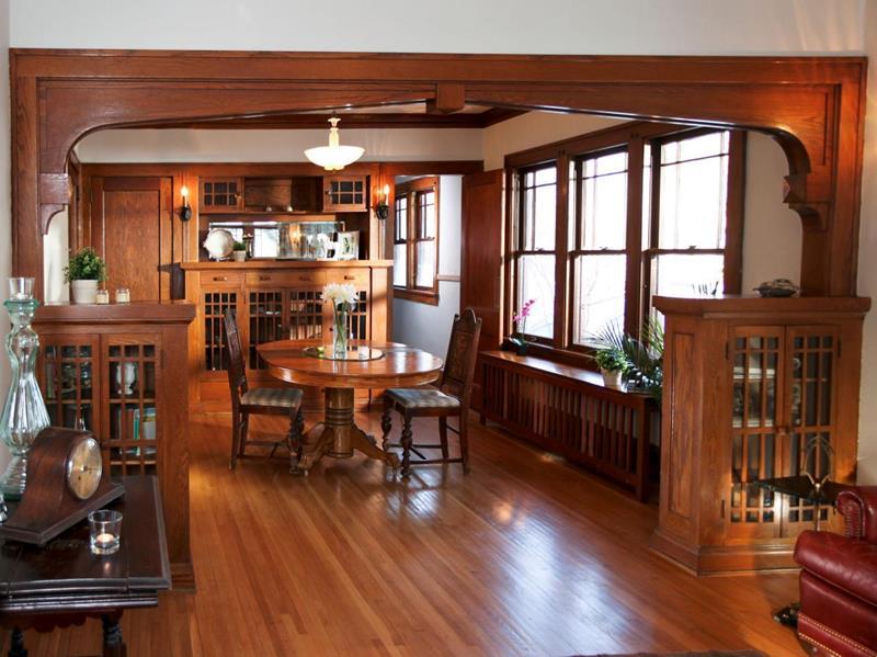 22 Amazing Craftsman Dining Room Designs-4