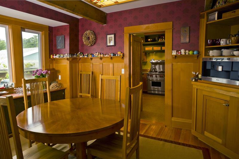 22 Amazing Craftsman Dining Room Designs-6