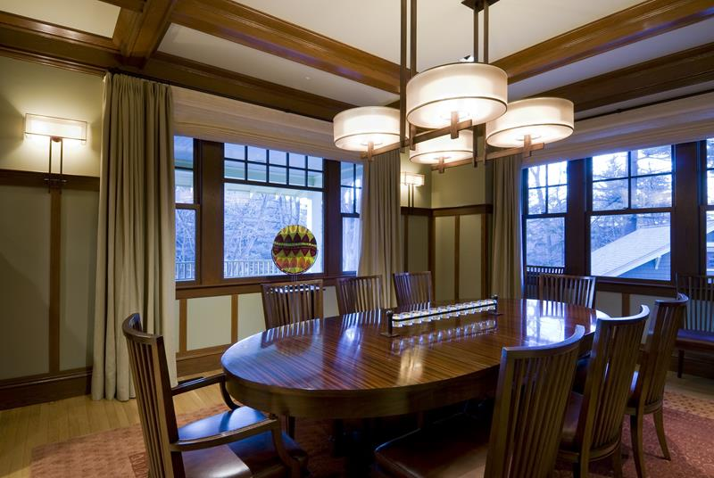 22 Amazing Craftsman Dining Room Designs-7