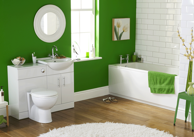 23 Charming and Colorful Bathroom Designs-4