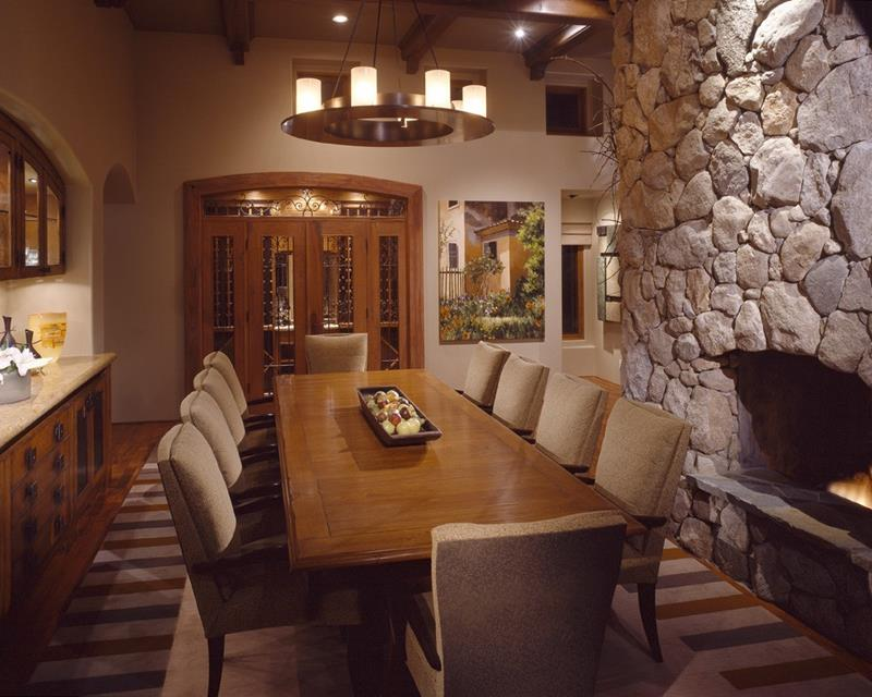 23 Designs for Epically Large Dining Rooms-4