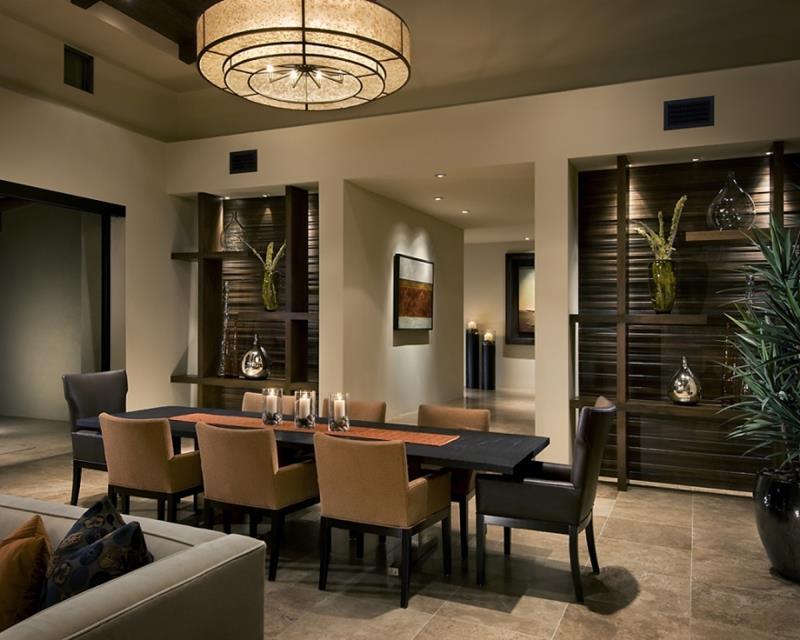 23 Sleek Contemporary Dining Room Designs-10