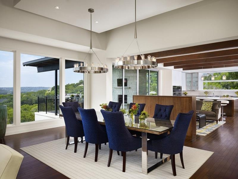 23 Sleek Contemporary Dining Room Designs-11