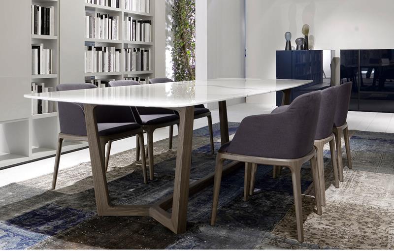 23 Sleek Contemporary Dining Room Designs-14