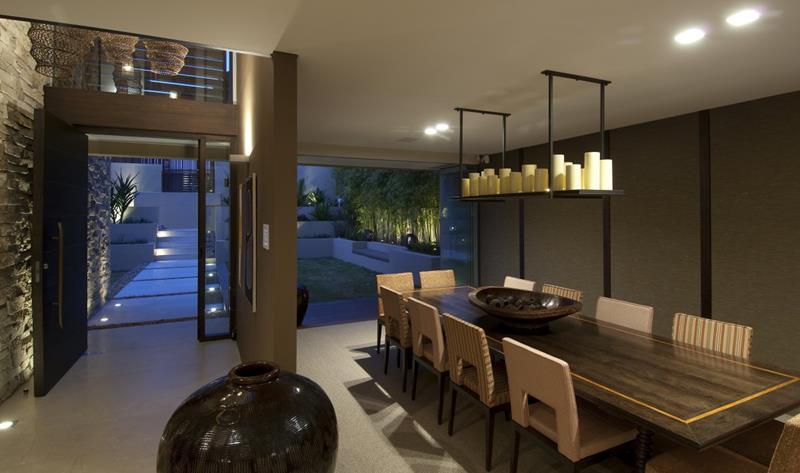 23 Sleek Contemporary Dining Room Designs-15