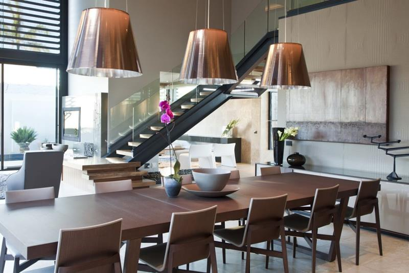 23 Sleek Contemporary Dining Room Designs-4