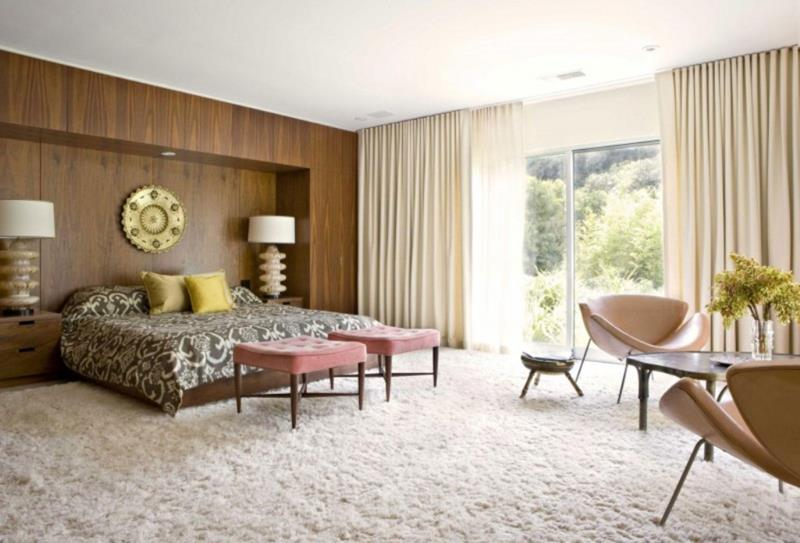 24 Beautiful Mid Century Bedroom Designs-1