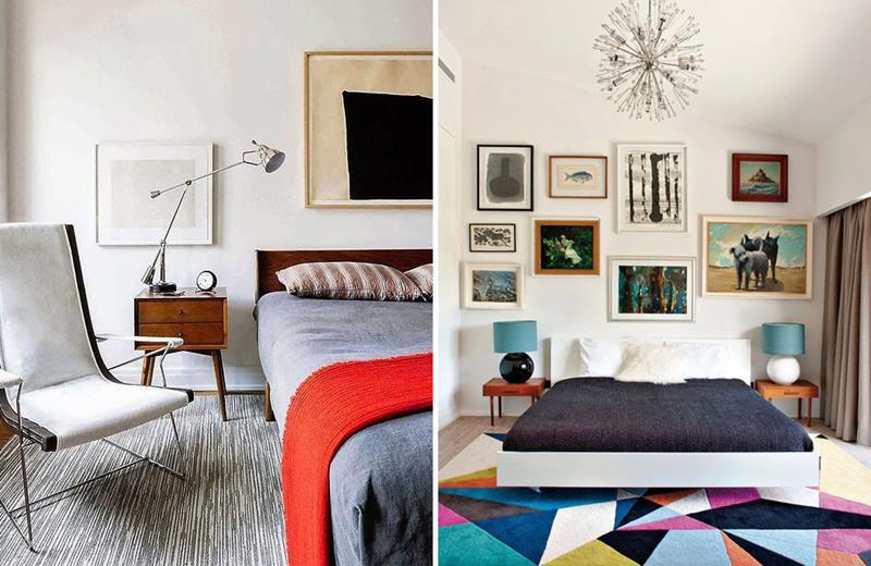 24 Beautiful Mid Century Bedroom Designs-12