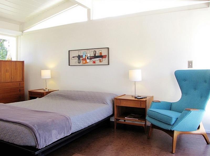 24 Beautiful Mid Century Bedroom Designs-13