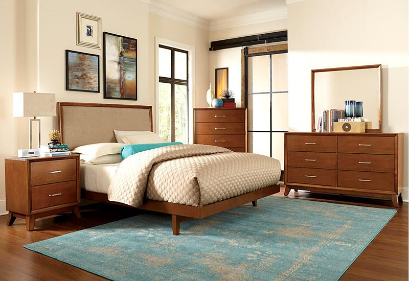 24 Beautiful Mid Century Bedroom Designs-18
