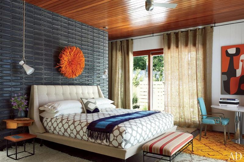 24 Beautiful Mid Century Bedroom Designs-2
