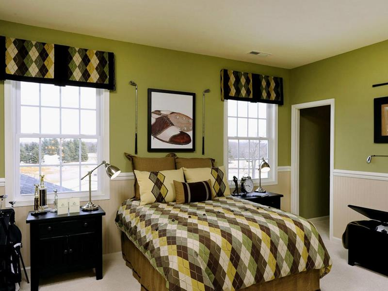 24 Beautiful Mid Century Bedroom Designs-20