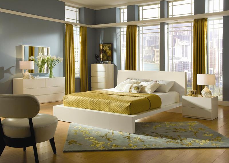 image named 24 Beautiful Mid Century Bedroom Designs 24