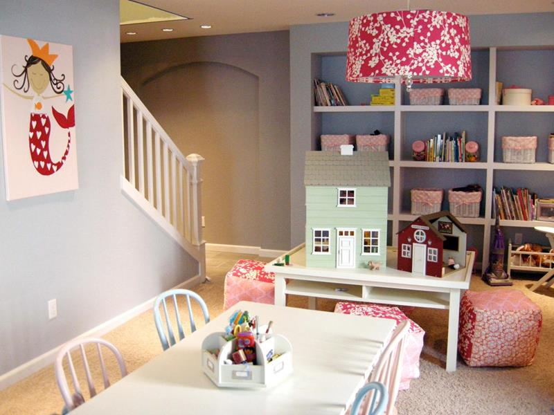 24 Child Friendly Finished Basement Designs-1