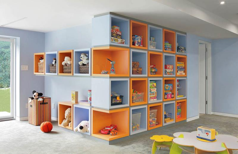 24 Child Friendly Finished Basement Designs-13