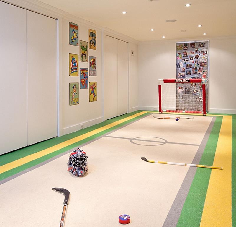 24 Child Friendly Finished Basement Designs-22