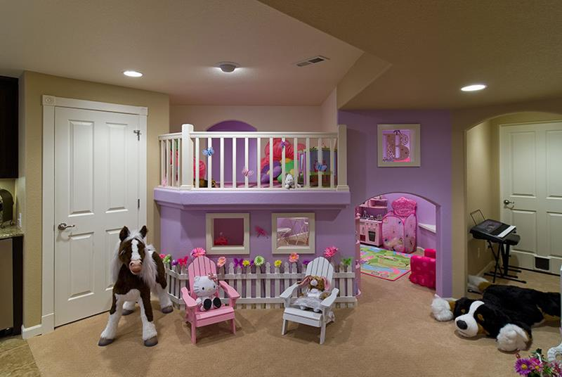 24 Child Friendly Finished Basement Designs-8