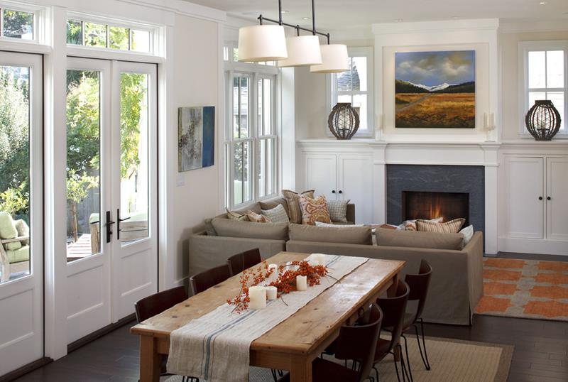 24 Country Dining Room Designs That Are So Inviting-11