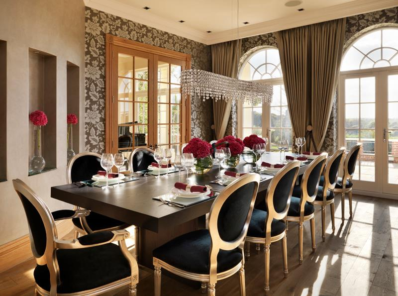 24 Country Dining Room Designs That Are So Inviting-13