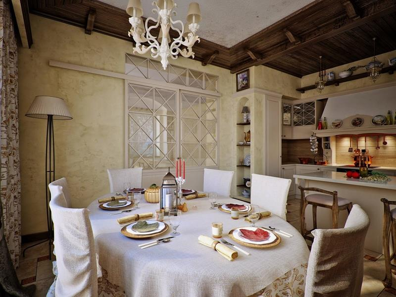 24 Country Dining Room Designs That Are So Inviting-15