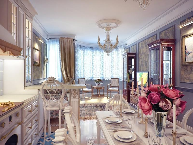 24 Country Dining Room Designs That Are So Inviting-19