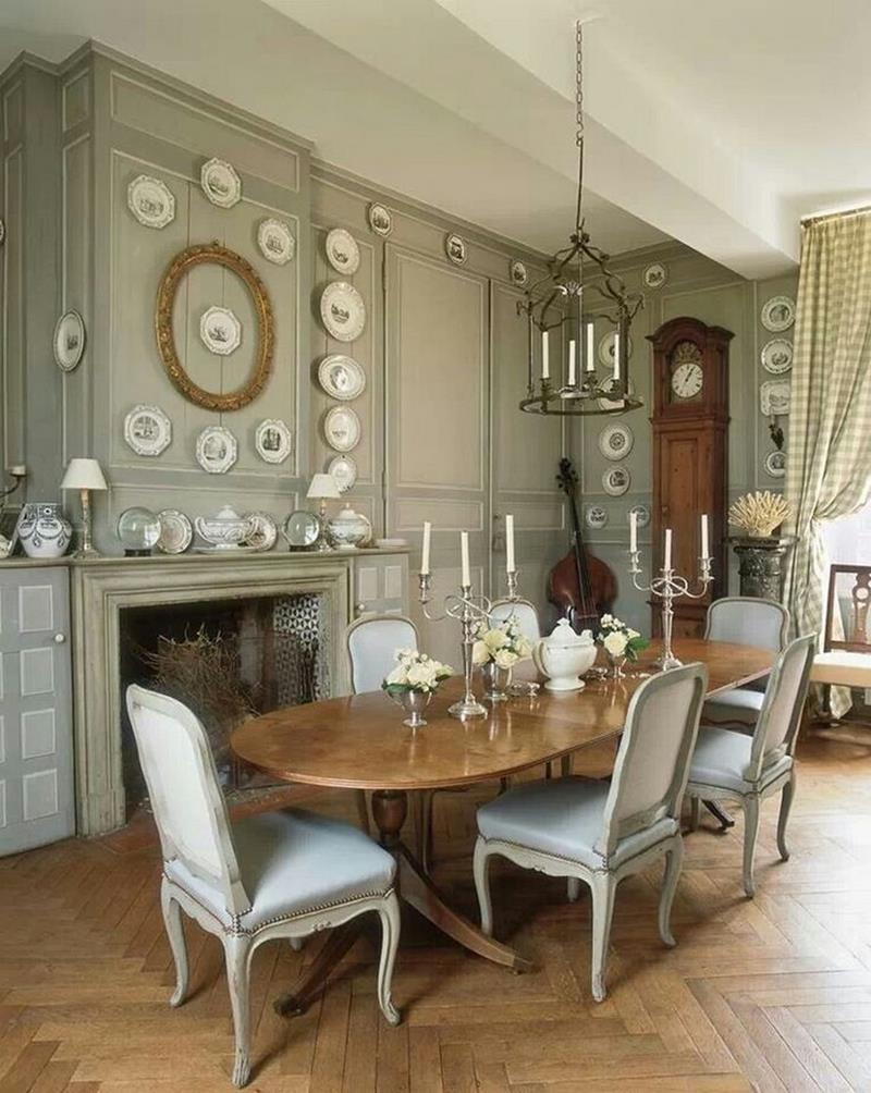 24 Country Dining Room Designs That Are So Inviting-2