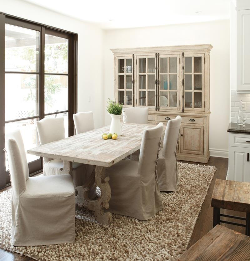 24 Country Dining Room Designs That Are So Inviting-21