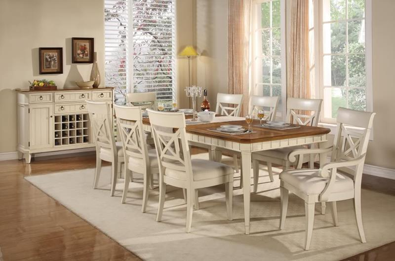 24 Country Dining Room Designs That Are So Inviting-3