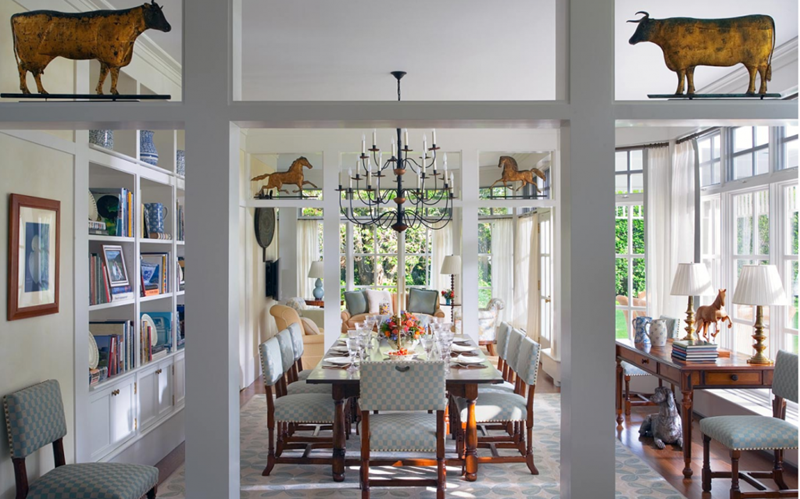 24 Country Dining Room Designs That Are So Inviting-5