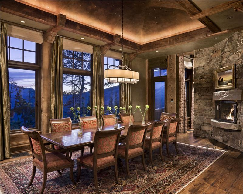 24 Country Dining Room Designs That Are So Inviting-6