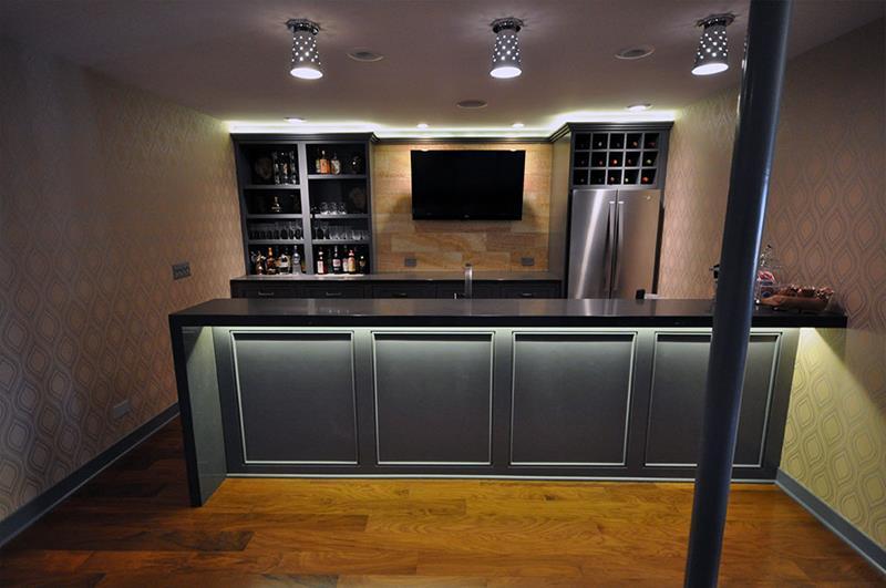 24 Finished Basements With Beautiful Hardwood Floors-6