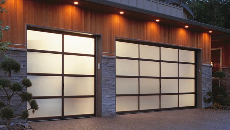 25 Awesome Garage Door Design Ideas-1