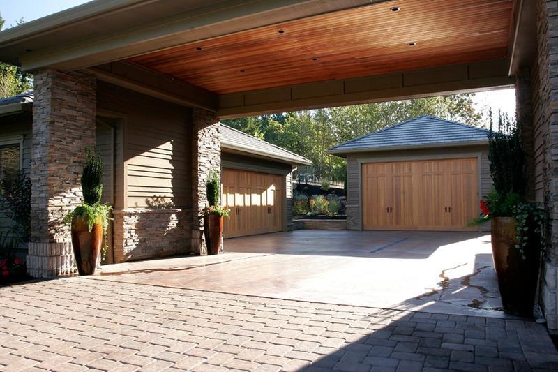 25 Awesome Garage Door Design Ideas-3