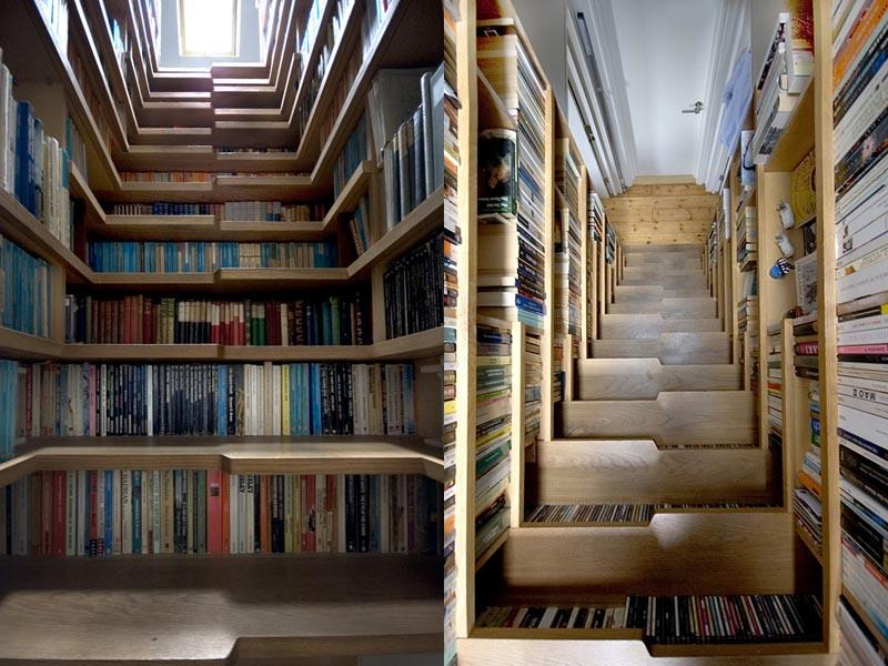 25 Crazy Awesome Home Staircase Designs-11