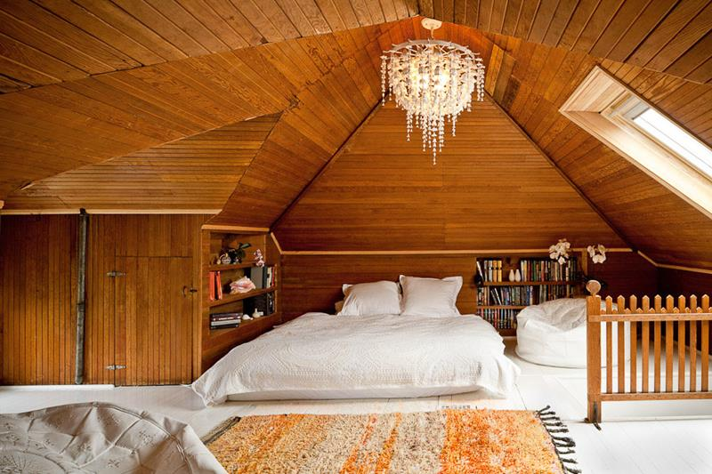26 Amazing and Inspirational Finished Attic Designs-24