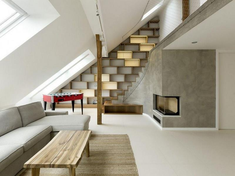 26 Amazing and Inspirational Finished Attic Designs-8
