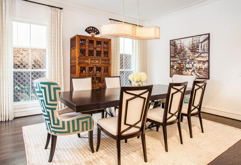 26 Beautiful and Bright Dining Room Designs-10