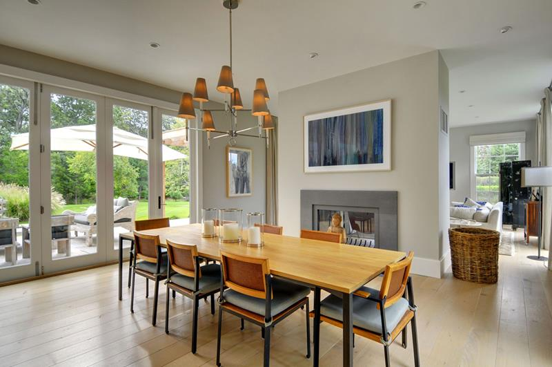 26 Beautiful and Bright Dining Room Designs-11