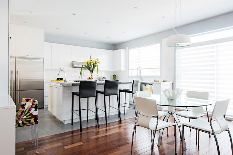 26 Beautiful and Bright Dining Room Designs-13