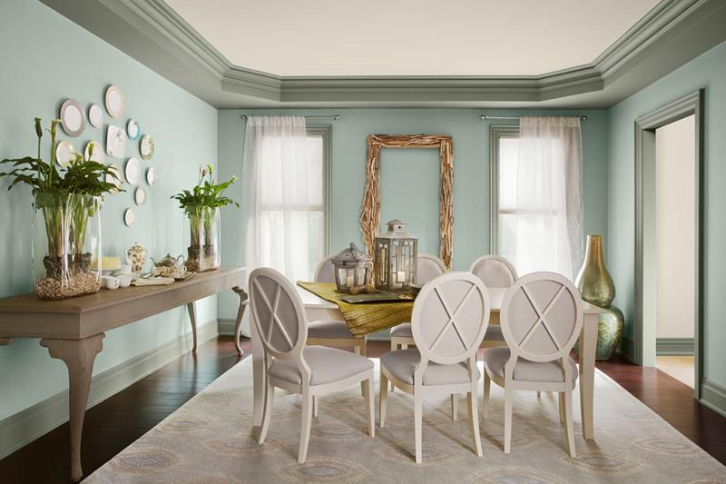 26 Beautiful and Bright Dining Room Designs-15