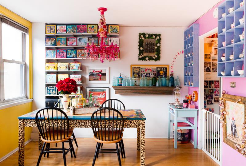 26 Beautiful and Bright Dining Room Designs-18