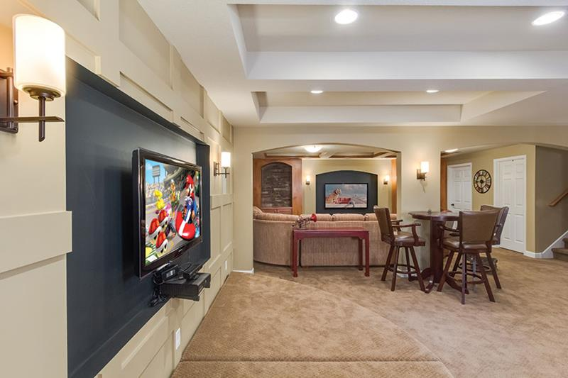26 Charming And Bright Finished Basement Designs Page 4 Of 5