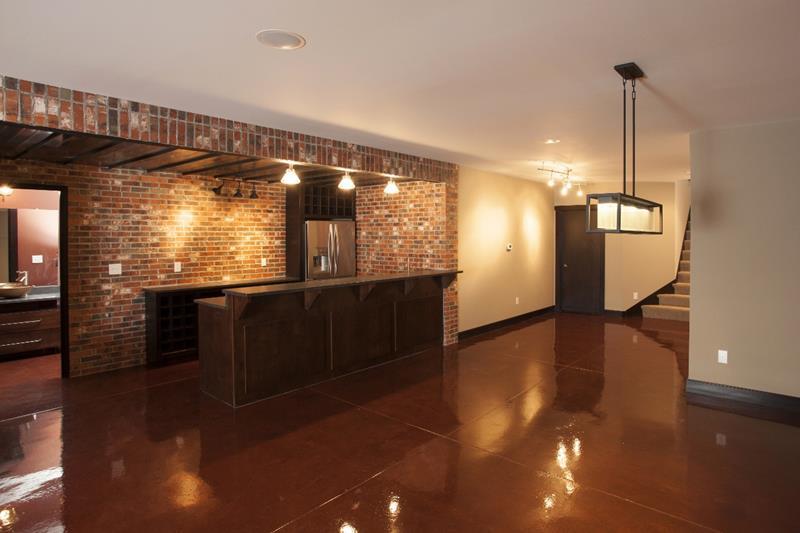27 Luxury Finished Basement Designs-4